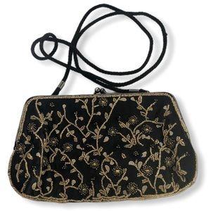 Vintage Lancome Beaded Evening Bag